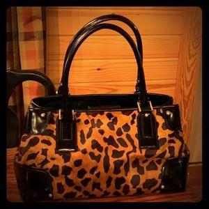 Talbots animal skin purse